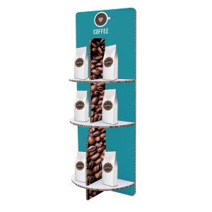 Premium-POP-Three-Tier-Half-Circle-Floor-Display-Kit