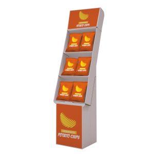 Presto-POP-Three-Tier-Angle-Floor-Display-Kit